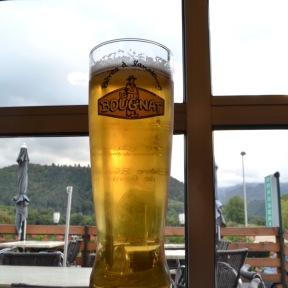 Biere à chabon sur lac