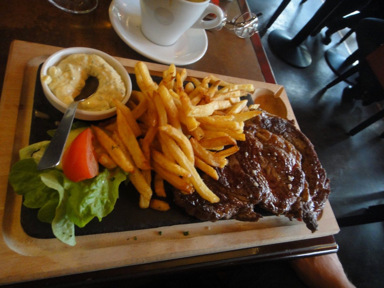 Steak frites Paris